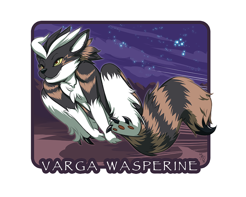 Varga Wasperin Con Badge by CookingPeach