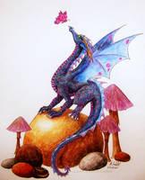 lil dragon by chaosia