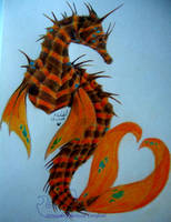 hippocampus with a twist by chaosia