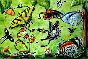 Tropical Menagerie by chaosia