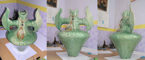 Orchid pot or vase by chaosia