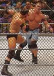 John Cena and Wade Barrett