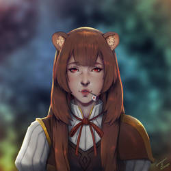 The Rising of the Shield Hero: Raphtalia by ArtDragor