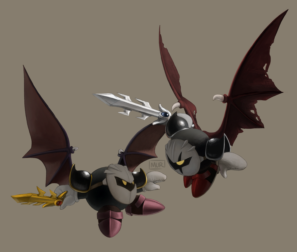 vs. Dark Meta Knight by ASagelyKitchenSponge on DeviantArt