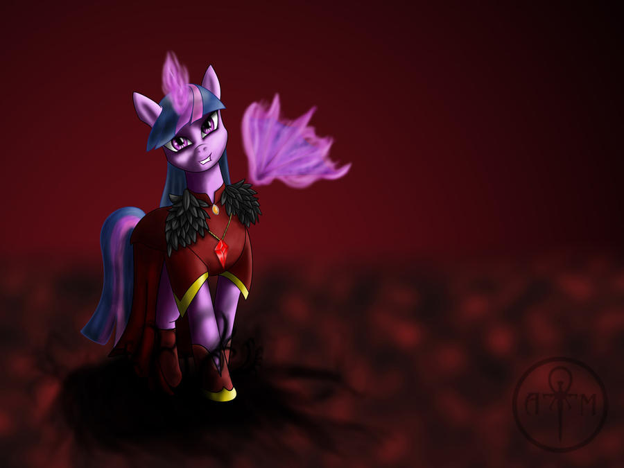 Evil Sorceress Twilight Sparkle by Adalbertus on DeviantArt