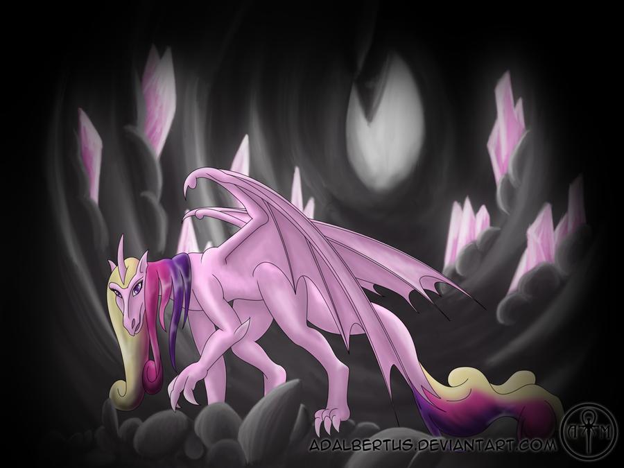 my_little_dragon__princess_cadence_by_adalbertus-d5e9xzi.png