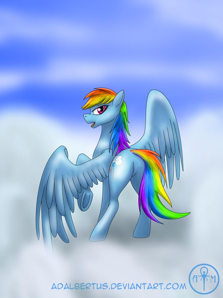 Rainbow in the sky by Adalbertus