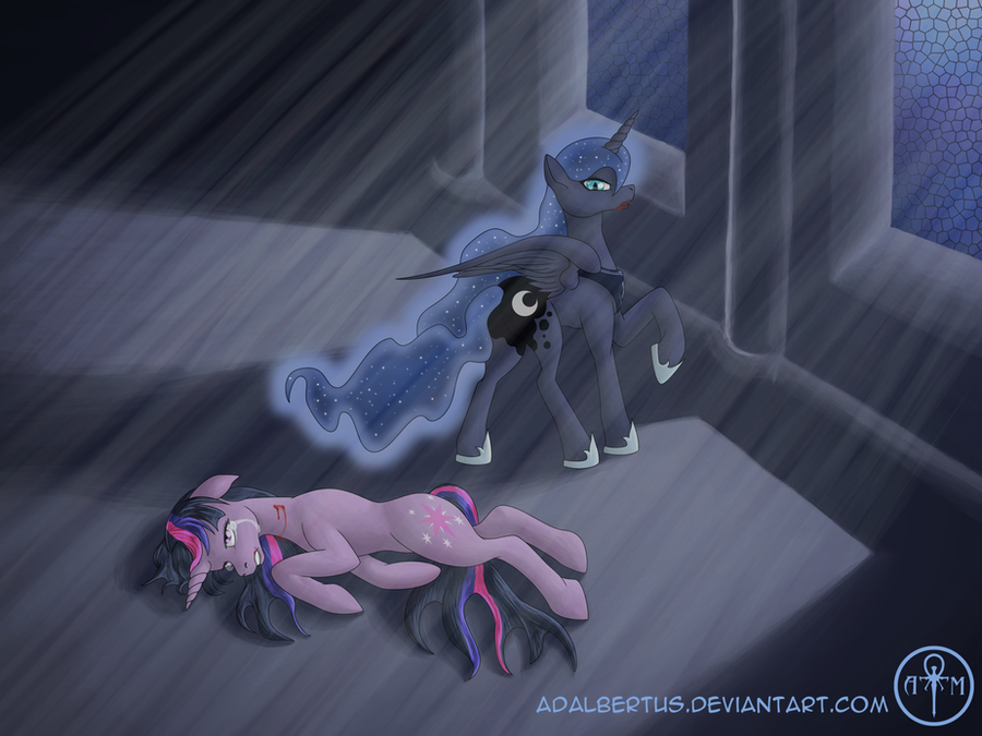 Embrace the Night, Twilight Sparkle by Adalbertus