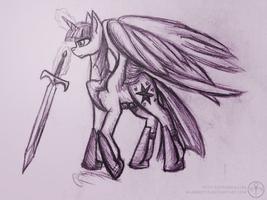 Twilight the warrior princess by Adalbertus