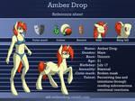 Amber Drop reference sheet