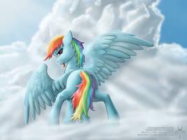 Rainbow in the sky take two by Adalbertus