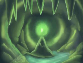 Green glow by Adalbertus