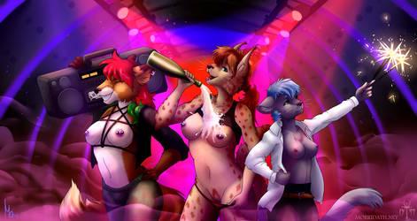 Girls gone wild by Adalbertus