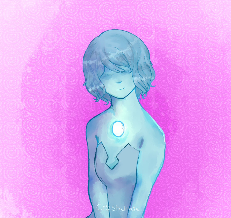 Blue pearl sketch by ChrysanthemumSnow
