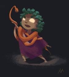 Shaman Kid by desertxue