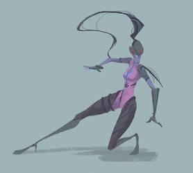 Widowmaker by desertxue