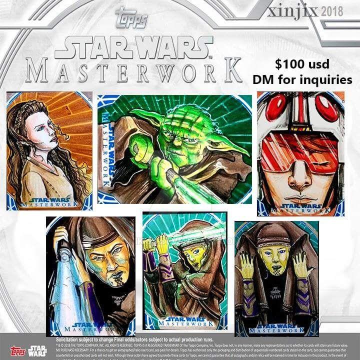 Star wars masterworks 2018 by nikiju