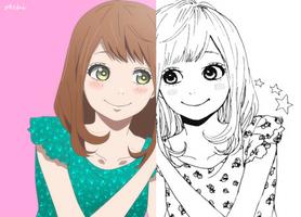 My color x Manga