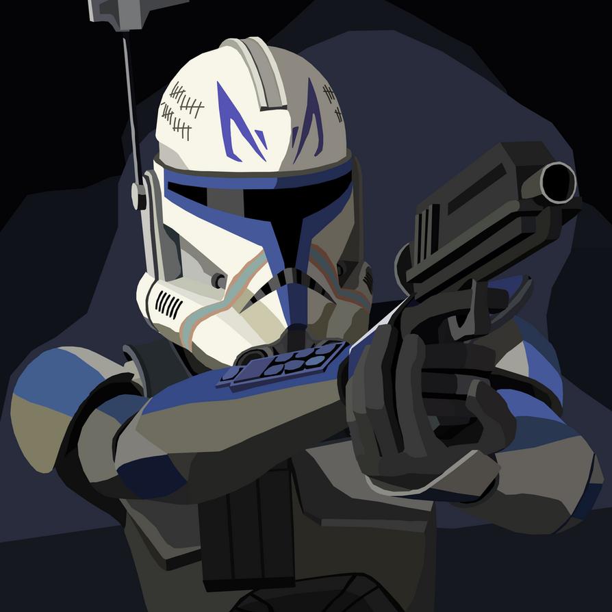 Captain Rex by shineytrooper on DeviantArt