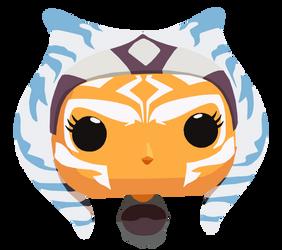 Ahsoka Pop! (I really want one of these) by shineytrooper