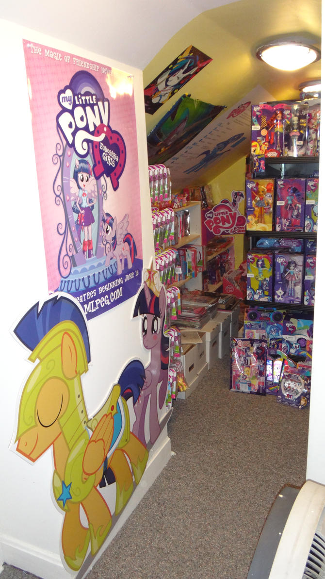 Main entrance to our Pony Collection by ramivic