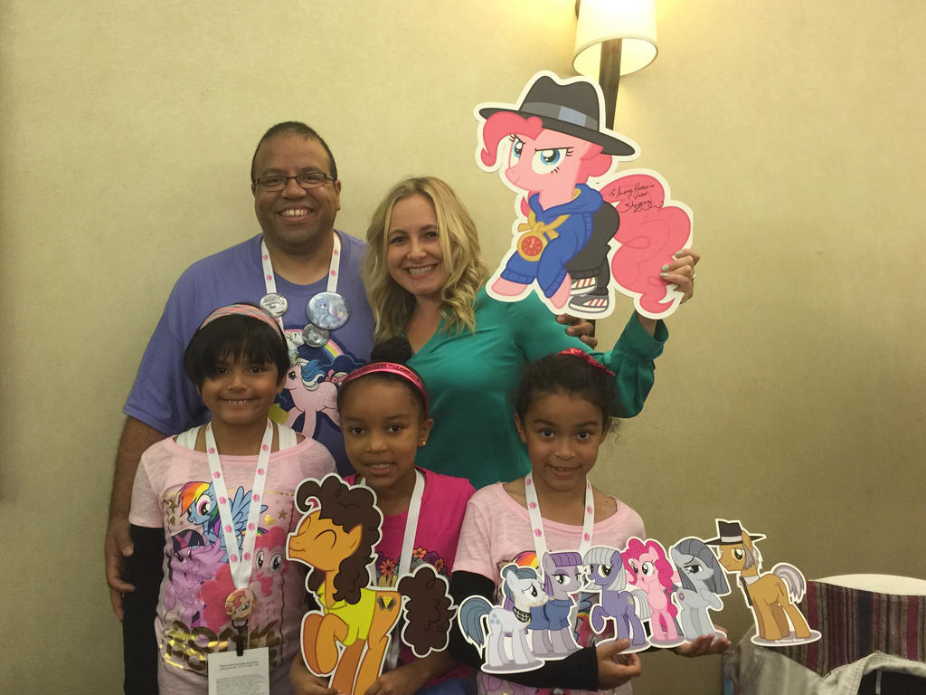 Andrea Libman at MLP Fair 2015 by ramivic