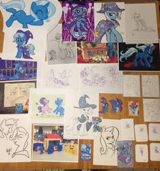 My Trixie collection - fan art by ramivic