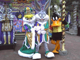 Mardi Gras at Six Flags Fiesta Texas by ramivic