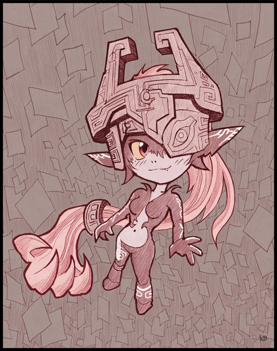 Cute Midna by Karbo
