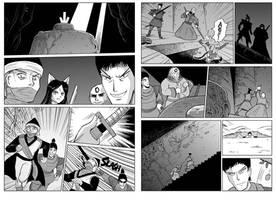 Felarya manga page 4-5 by Karbo