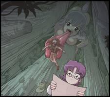 Lykaia's hunt by Karbo