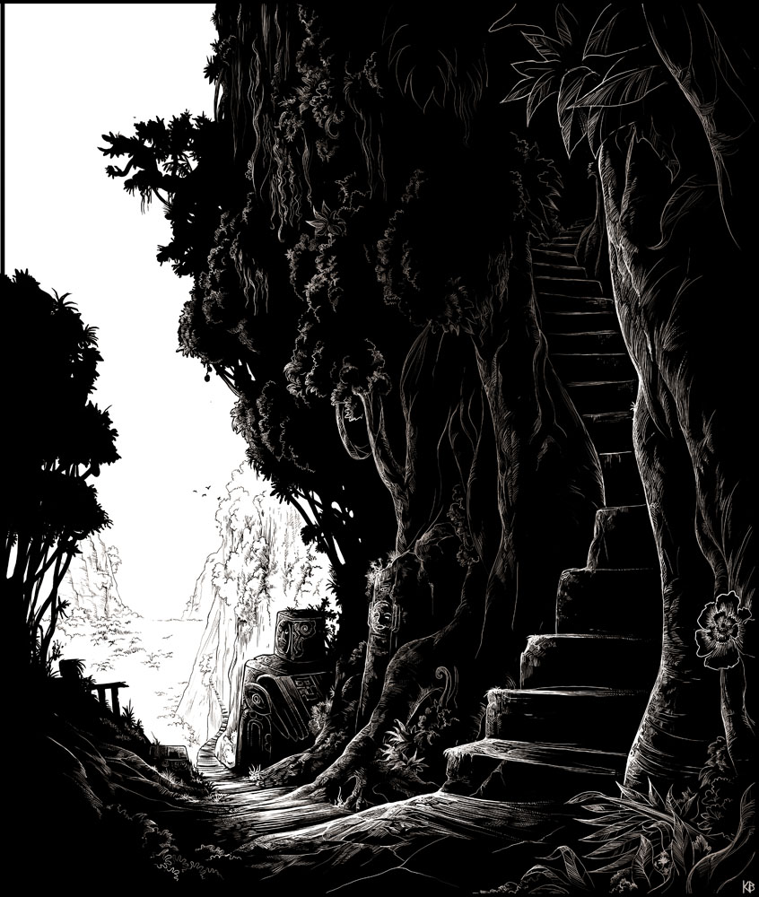 Stairway To The Mine By Karbo On DeviantArt