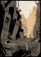 Ruins of Ur-Sagol by Karbo