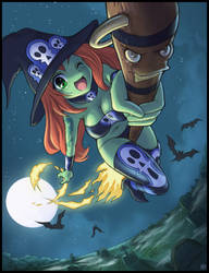 Witchie Boo by Karbo