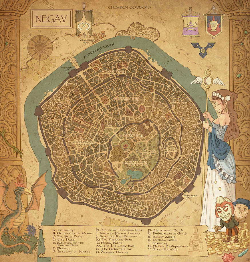 Negav Map by Karbo