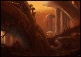 Mycoria speed painting by Karbo