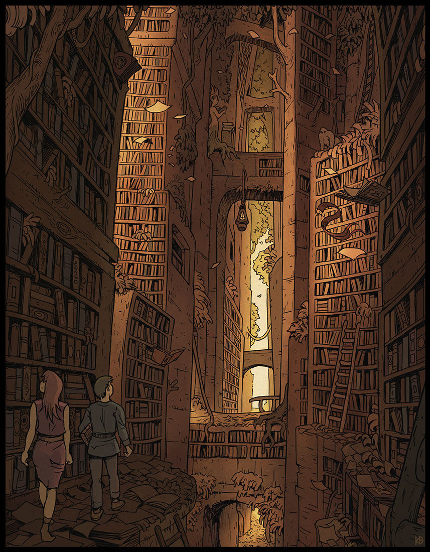 Venmys Pieaug Library by Karbo on DeviantArt