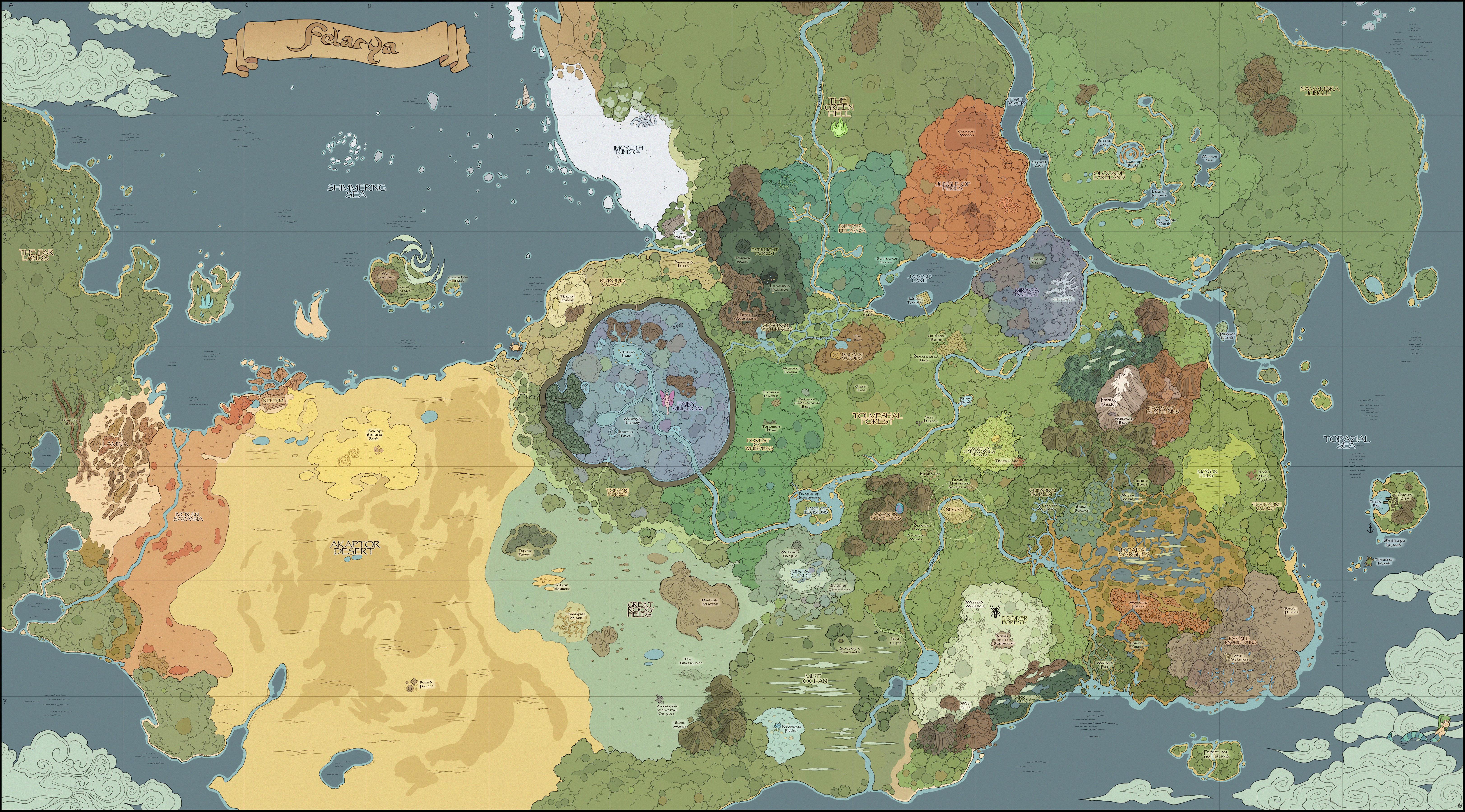 Felarya map V2