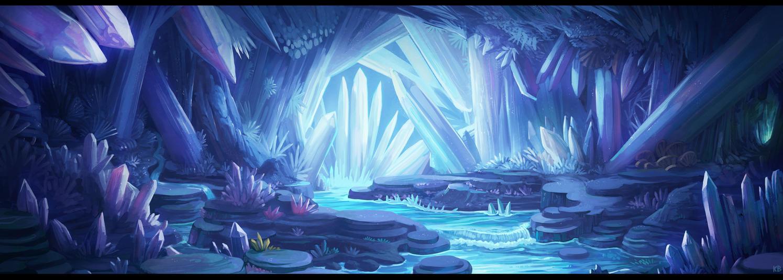 ▽ La caverne crystaline ▽ Crystal_cave_by_karbo-dcm6gic