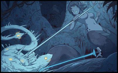 Aurora fight by Karbo