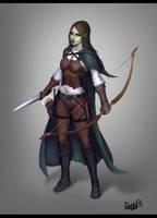 Witcher Elf girl