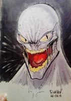 Monster Sketch 001 by Rayvell