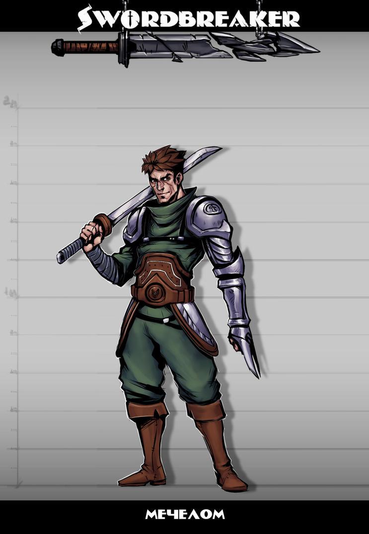 Swordbreaker character - 3 by Rayvell