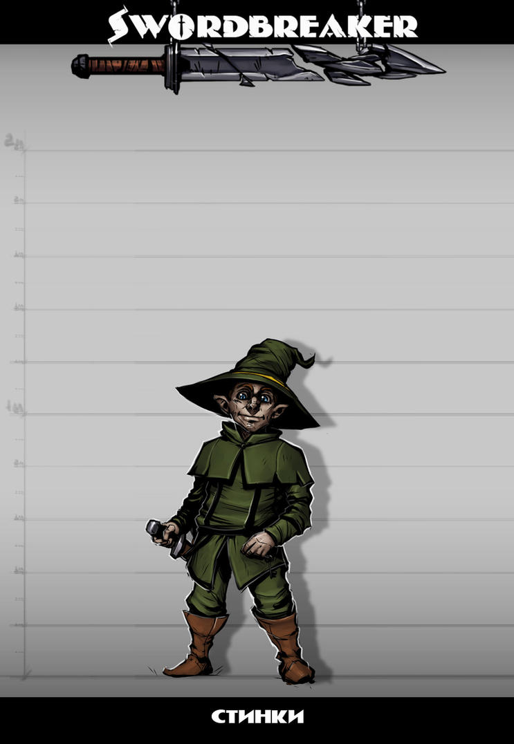 Swordbreaker character - 5 by Rayvell