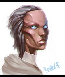 random Girl sketch 2 by Rayvell