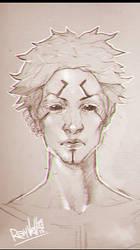 random Girl sketch 4 by Rayvell
