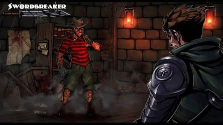 Swordbreaker scene - 5 by Rayvell