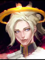 Mercy Overwatch by Rayvell