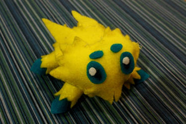 Joltik Plushie by FollowingtheSon