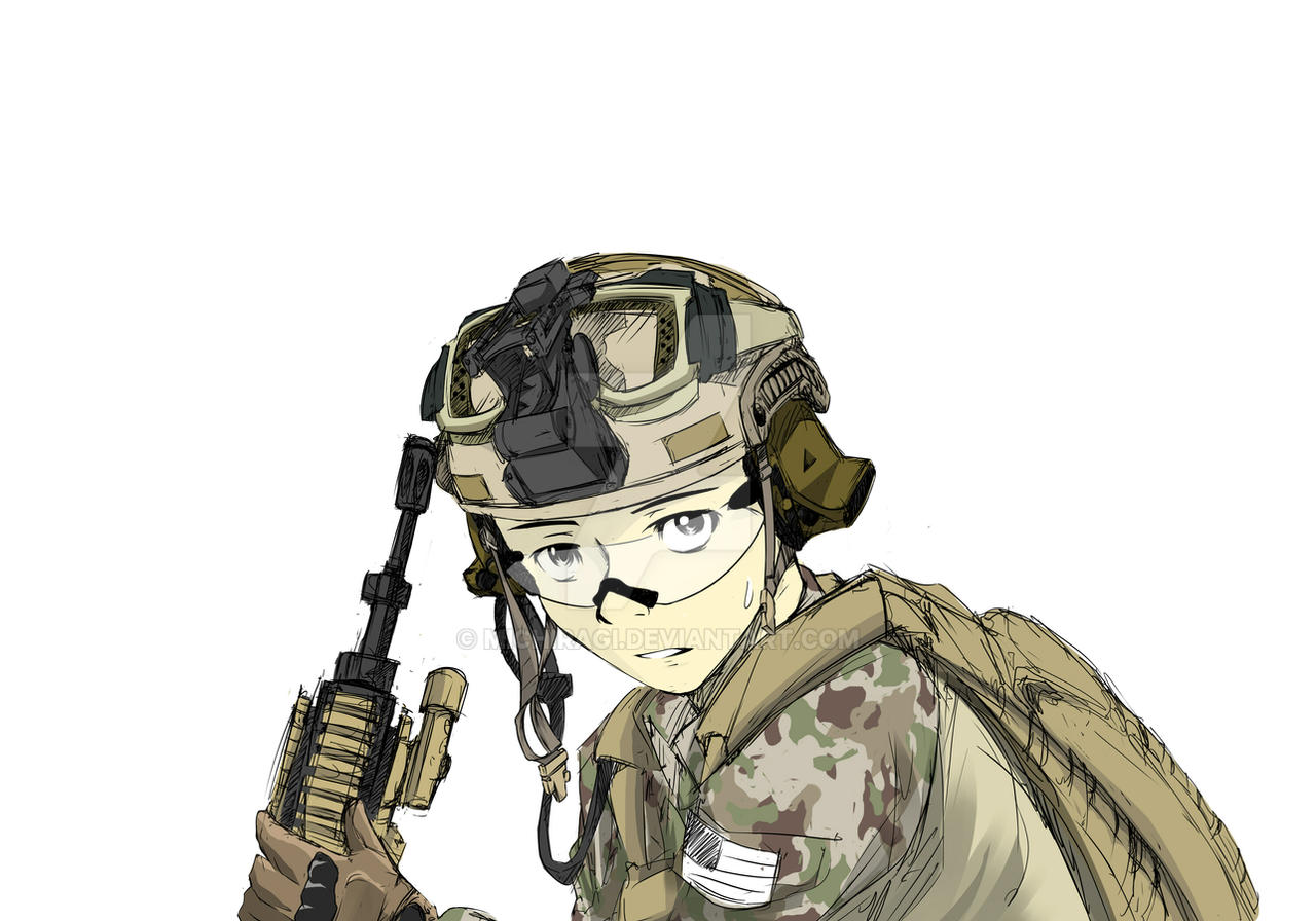 Anime Military Soldier Www Pixshark Com Images